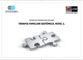 Curso de formación online: Terapia familiar sistémica. Nivel 1 (5ª Ed.)