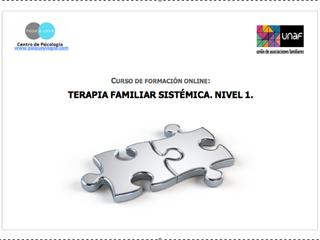 Curso de Formación Online: Terapia Familiar Sistémica, Nivel 1
