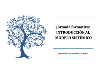 Jornada de Introducción al Modelo Sistémico