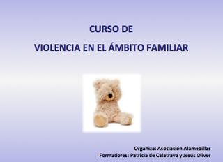 """Curso de """"Violencia en el ámbito familiar"""""""