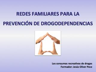 Curso de Redes Familiares para la Prevención de Drogodependencias