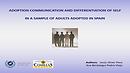 Comunicacion sobre adopcion y diferenciacion del self en una muestra de adultos adoptados
