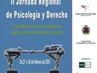 II Jornada Regional de Psicología y Derecho