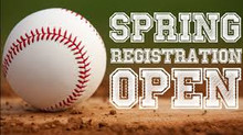 Registration is Open for junior baseball