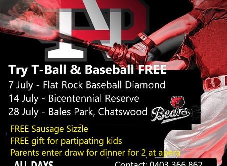 Try Baseball at Bears