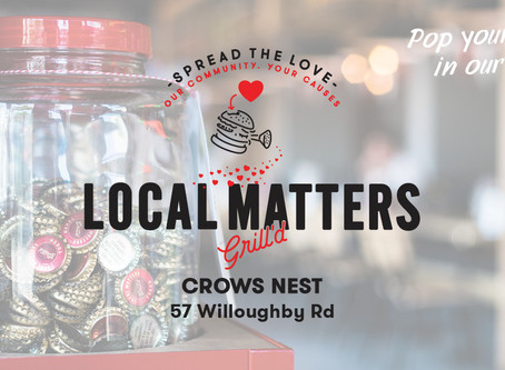 We are 'On-The-Jars' at Grill'd Crows Nest this August