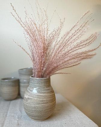 Vase sanddyne rund