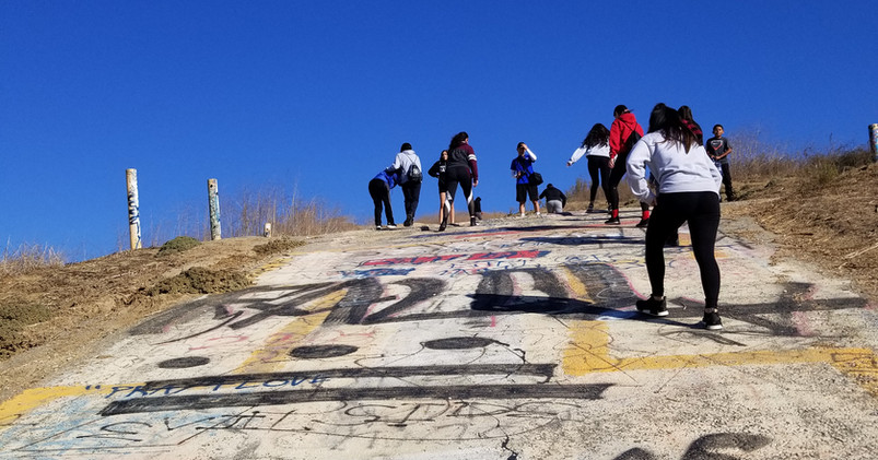 Youth to Youth Leadership Hiking