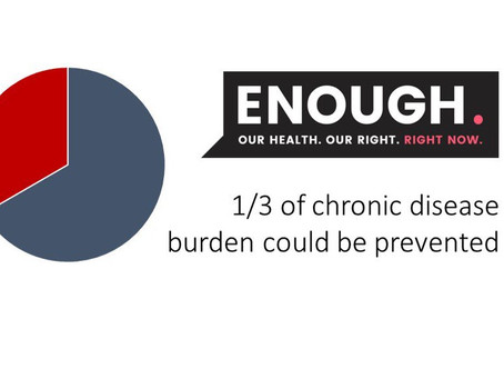 Enough. Our Health. Our Right. Right Now.