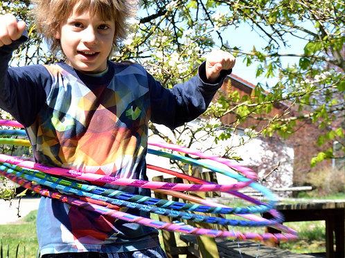 Hula Hoop für 6-10 Jahre zweifarbig