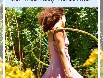 Wunderbares Shoulderhooping - der Hoopdance Herzöffner