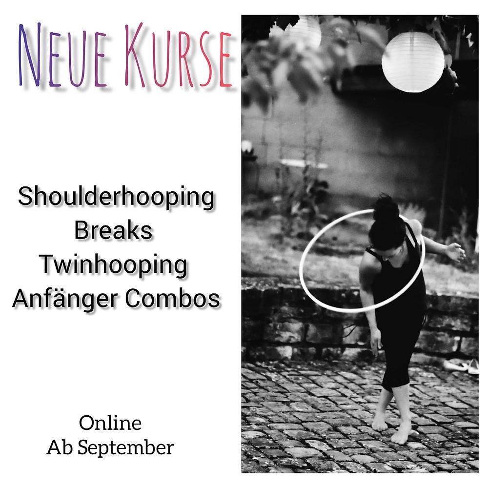 Hoopdance Online Kurse Raumkreise Anfänger und Fortgeschrittene