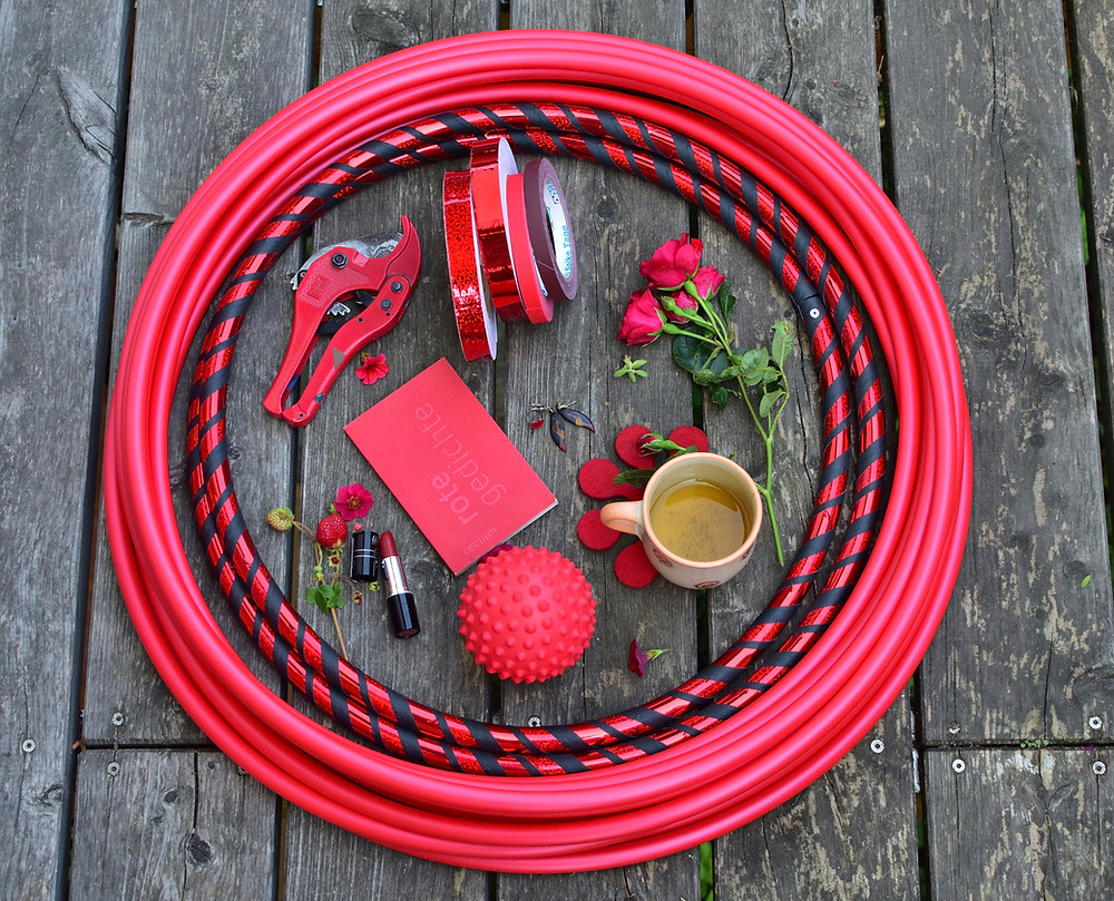 Anfänger Hula Hoop 16mm polypro Hoop Hoopdance Reifen