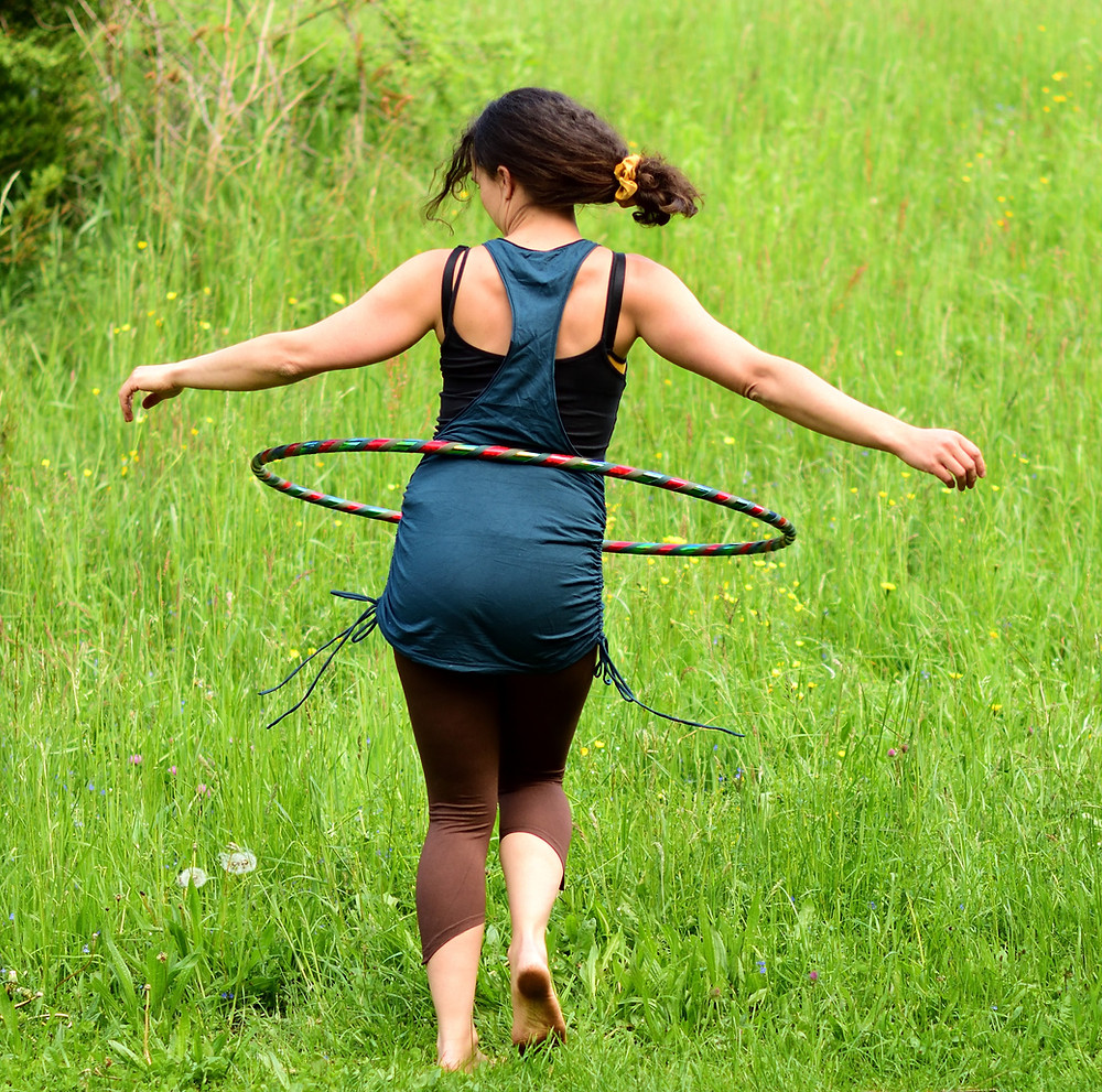 On Body Hula Hoop Bauchhooping Hoopdance Beginner