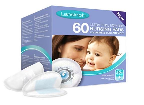 Lansinoh Disposable Nursing Pads, 60 pads
