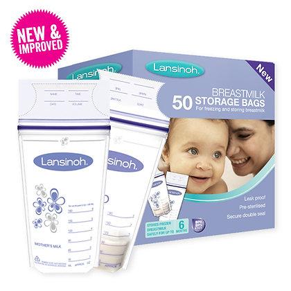 Lansinoh Breast Milk Storage Bags 50 pack