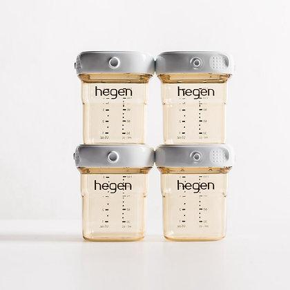 4 Hegen 150ml Breast Milk Storage containers