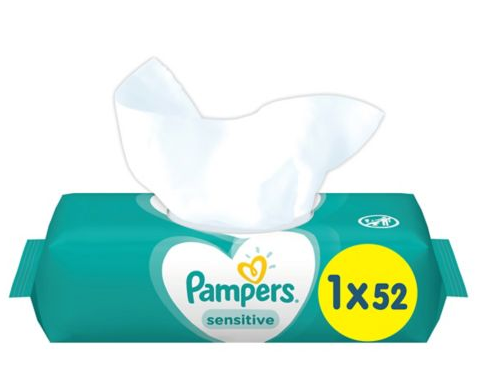 Pampers Sensitive Fragrance Free Baby Wipes