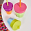 Thumbnail: B.Box Cups Silicone Lids - Passion Splash