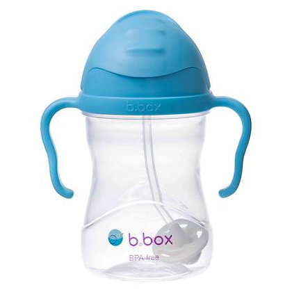 B.Box childs sippy Cup in colour Blueberry