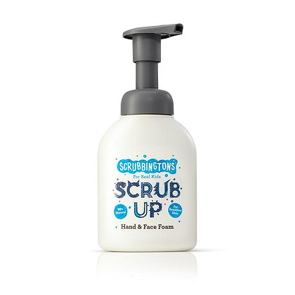 Scrubbingtons Scrub Up Foaming Hand & Face Wash bottle 200ml Front View