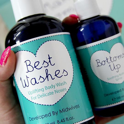 Natural Birthing Company Best Washes