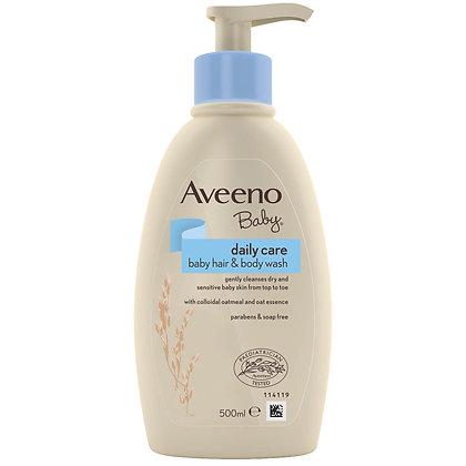 Aveeno Baby Daily Care Hair & Body Wash 500ml
