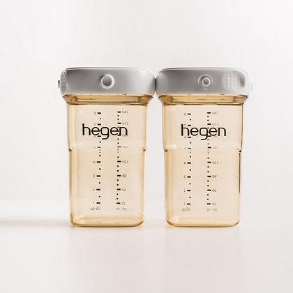2 Hegen 240ml Breast Milk Storage containers
