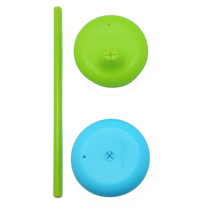 B.Box Cups Silicone Lids - Ocean Breeze