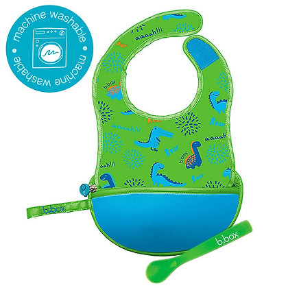 B.Box Travel Bib in colour Dino Time
