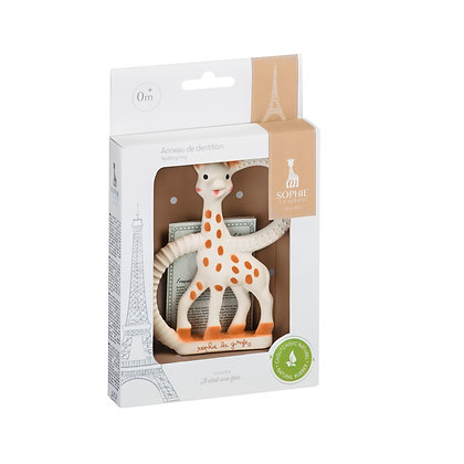 Sophie La Girafe Teething Ring in a Box