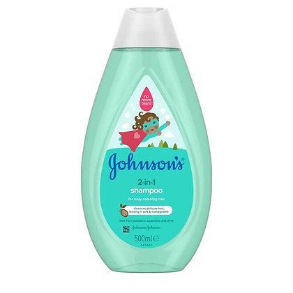 Johnsons 2 in 1 Children's Shampoo 500ml