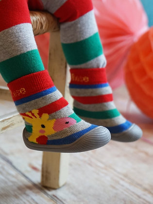Blade & Rose Giraffe Sock Shoes