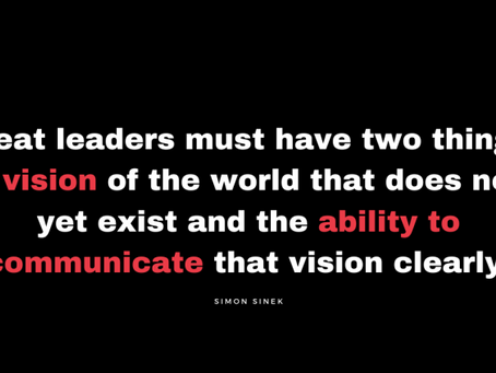 Great leaders must have two things: