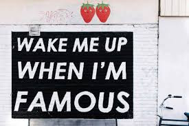 Your job is to dream big, ours is to make you famous :)