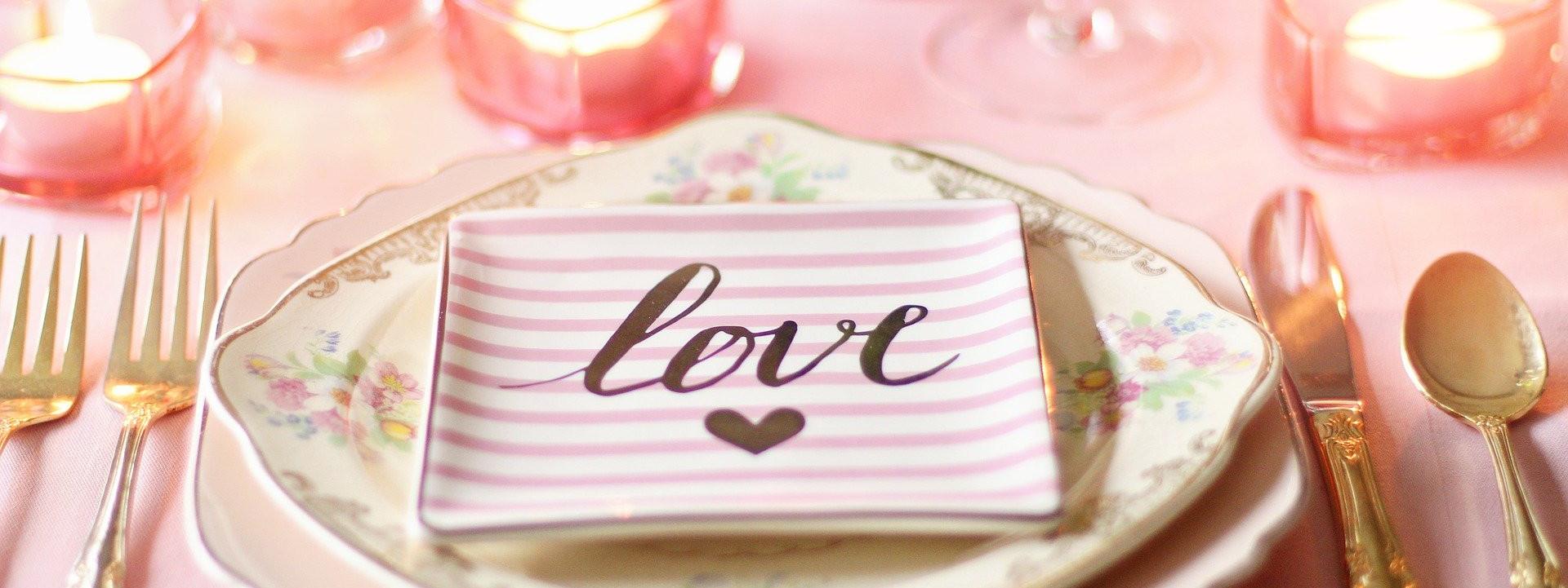 Love - Table Setting