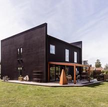 Villa Abenius fasad/baksida