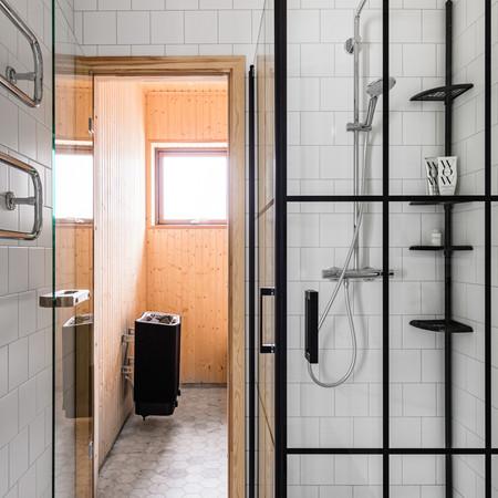Bastu och dusch