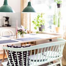 Soffa i köket