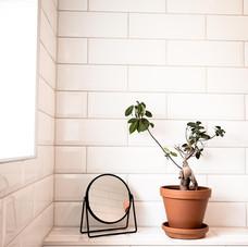 Kakel i badrummet