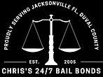 Chris's 247 bail bonds logo white on black.jpg