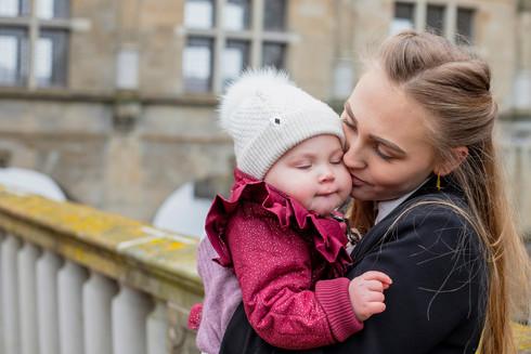 Portrætfotografering - mor og datter