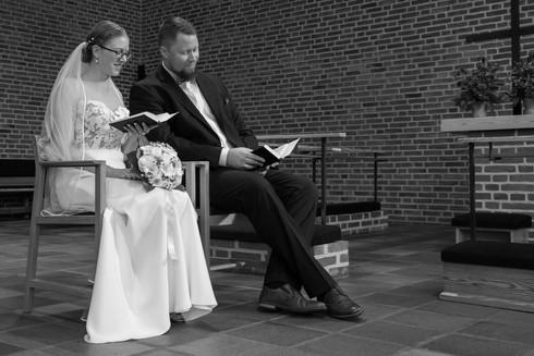 Bryllupsfotografering - Vielsen