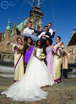 Bryllupsfotografering - Portræt