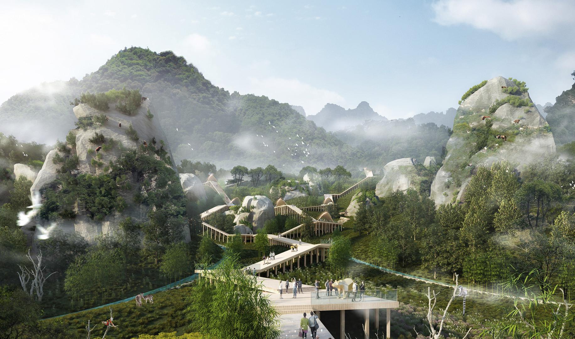 Chengdu Panda Land Master Plan