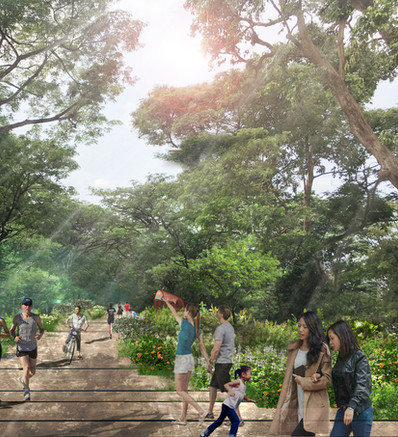 Bidadari Green & Blue Masterplan