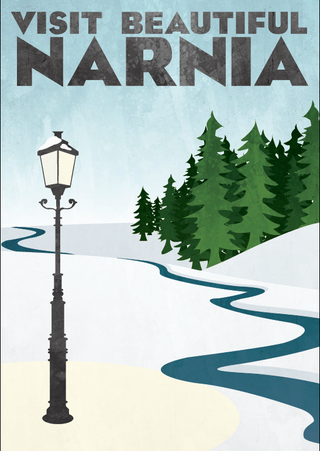 Travel Poster: Narnia
