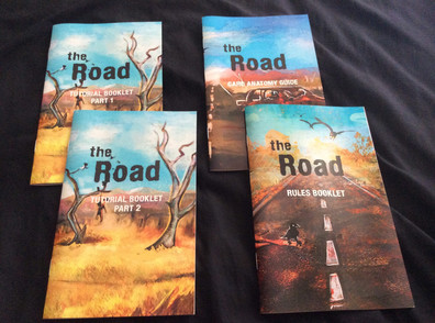 The Road instruction booklets