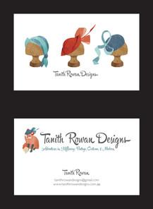 Tanith Rowan business cards