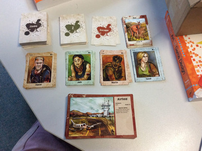 The Road card decks